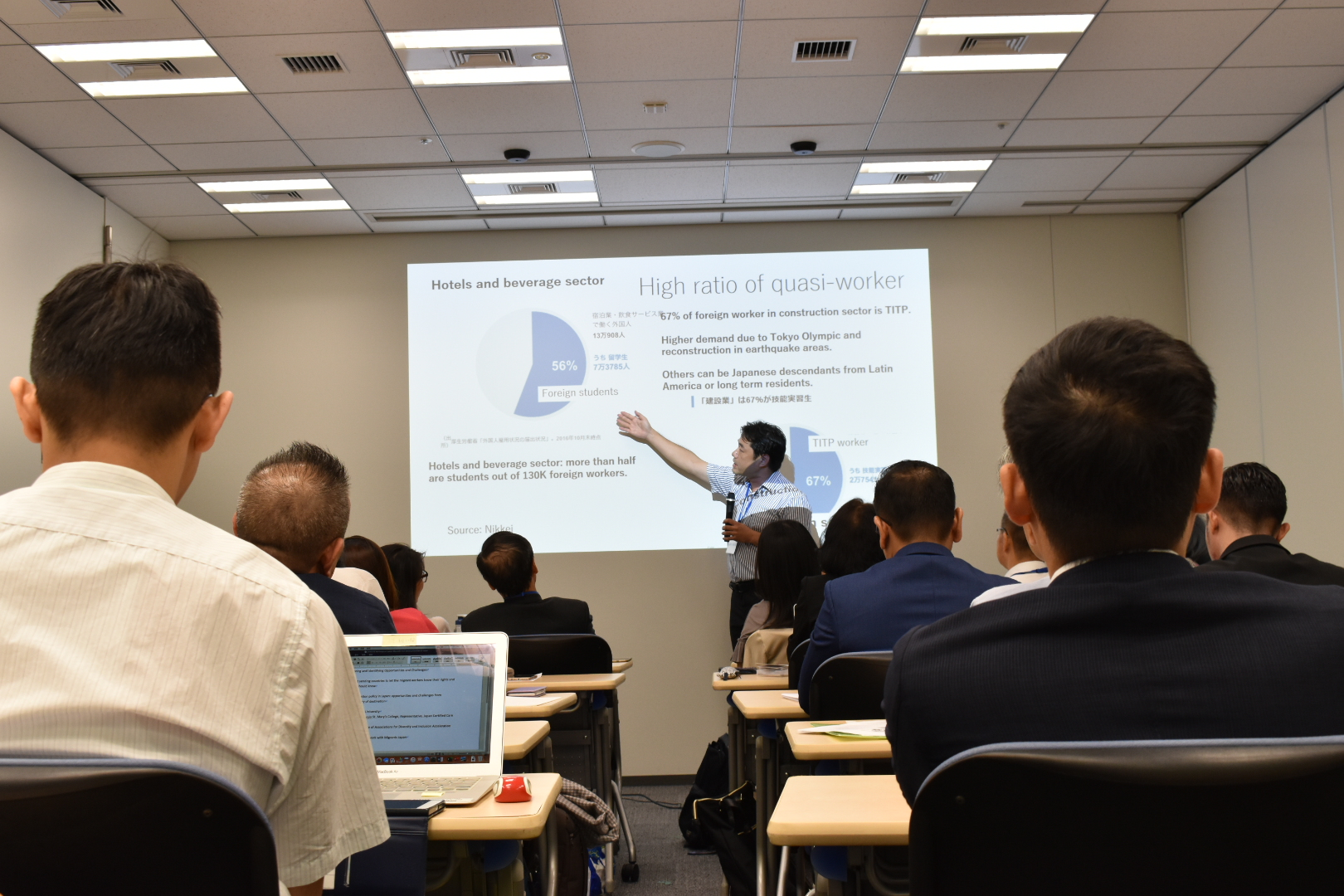 Multi-Stakeholder Workshop on Labour Migration from Mekong Countries to Japan, July 2019, Tokyo, Japan