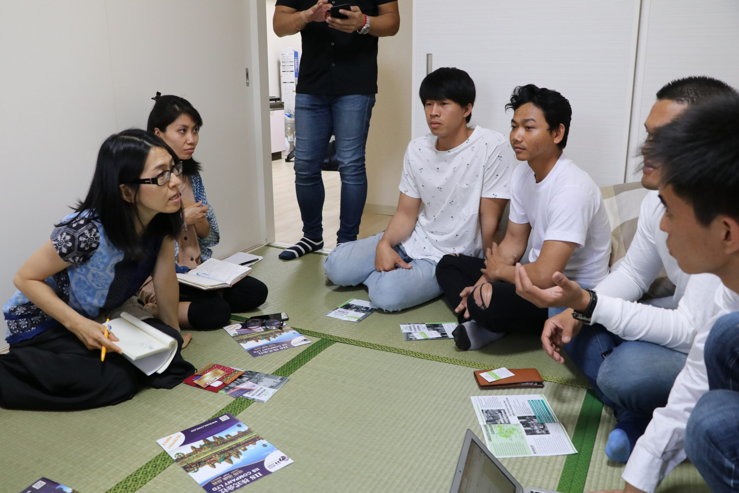 Home visit of migrants in Japan, July 2019, Kanagawa, Japan