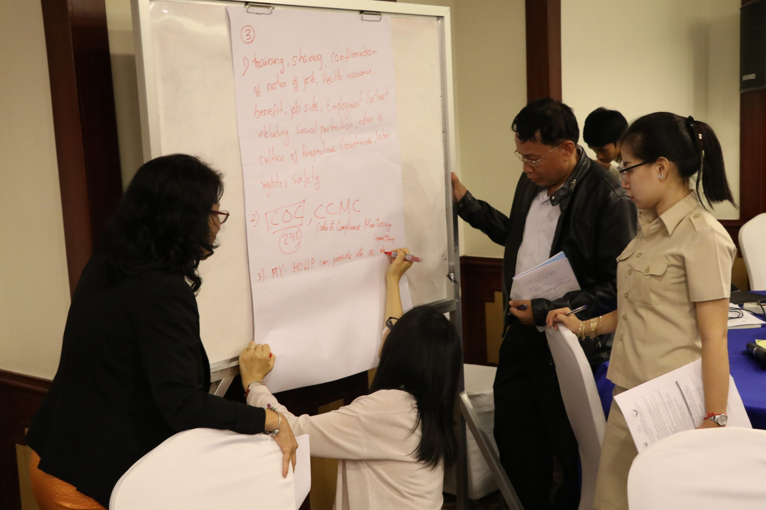 Second Policy Dialogue on Roles of Countries of Origin, July 2019, Phnom Penh, Cambodia