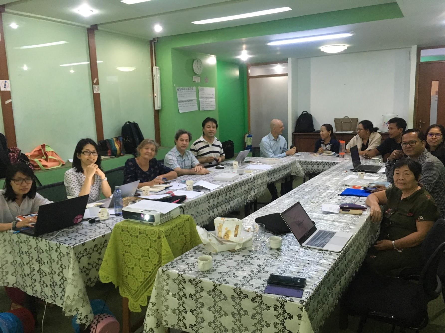 Third project partners consultation meeting, April 2019, Yangon, Myanmar