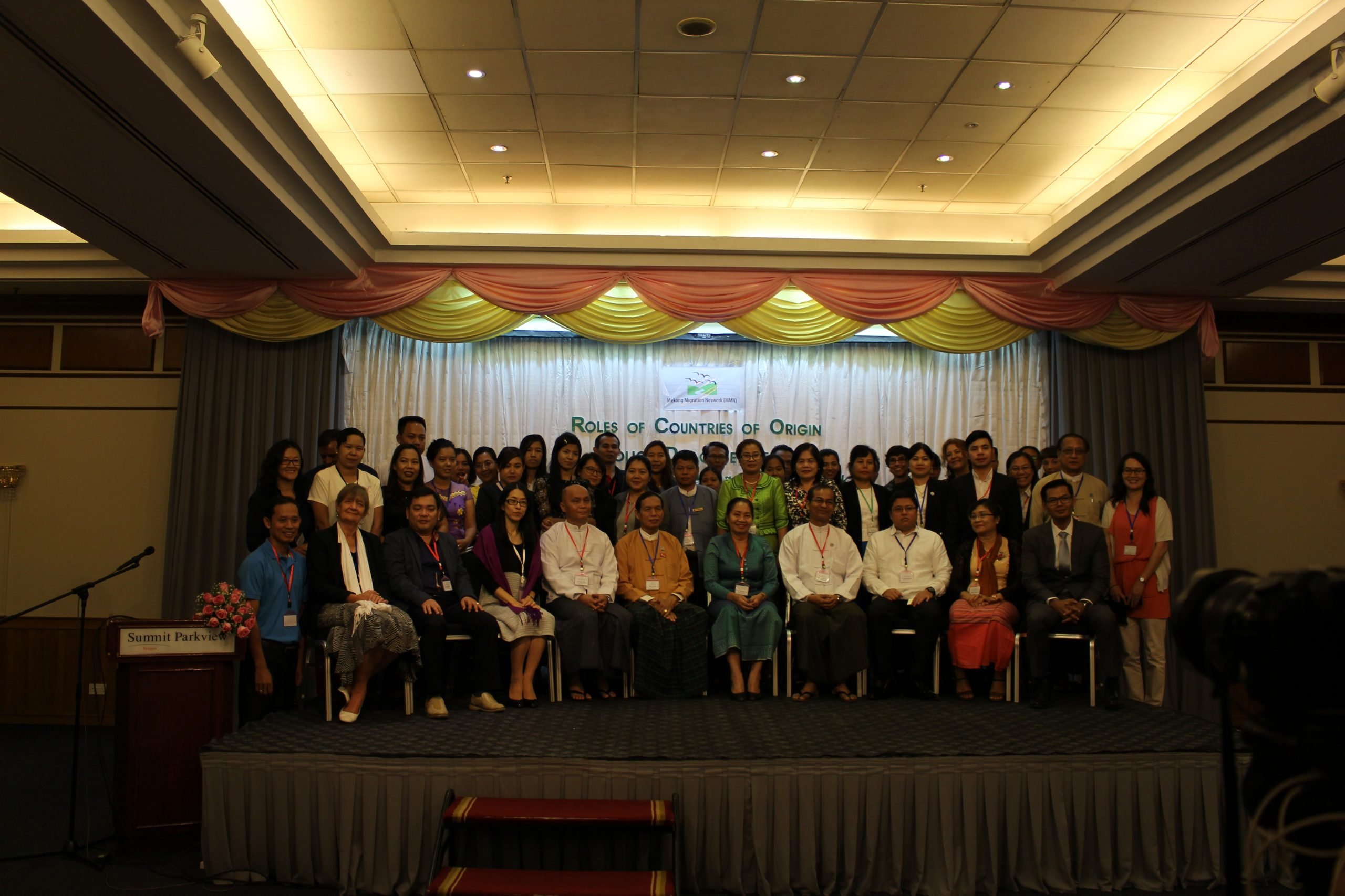 First Policy Dialogue on the Roles of Countries of Origin, July 2017, Yangon, Myanmar
