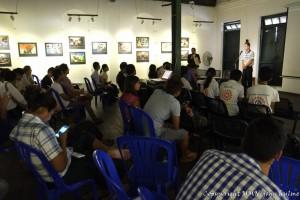 MMN photo exhibition, October 2016, Yangon, Myanmar