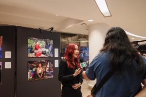 Opening of the Photo Exhibition, 'Resilience and Uncertainty- Mekong Migrant Workers amid the Pandemic Downturn, 15-20 December 2020 at SEA-Junction (2)