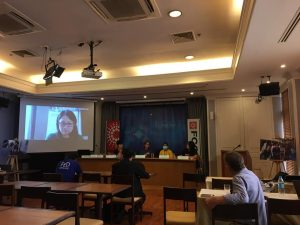 Panel Discussion on Protecting Migrants' Rights amid the Pandemic Downturn at Foreign Correspondents' Club of Thailand (FCCT) on 15 December 2020